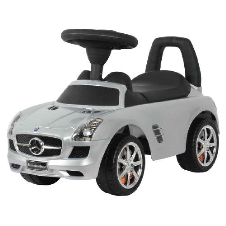 乗用玩具 メルセデスベンツ(シルバー) Mercedes-Benz SLS AMG RIDING TOY CAR