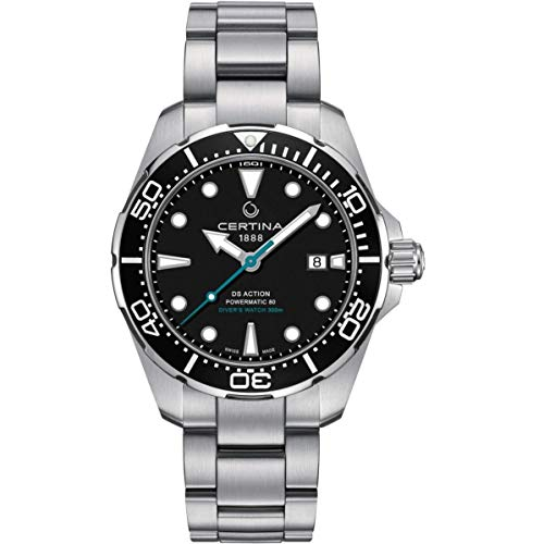 Certina DS Action Diver Herren-Armbanduhr 43mm Automatik C032.407.11.051.10
