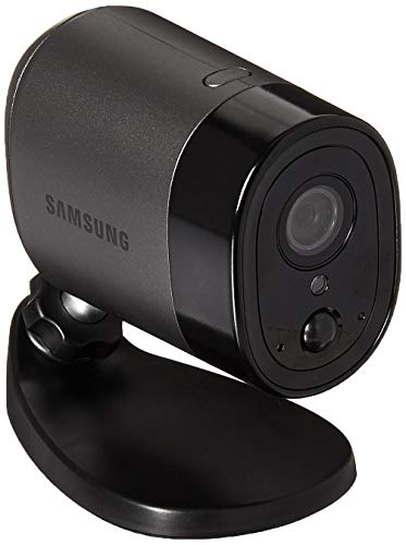 Samsung Wisenet SNW-R0130BW SmartCam A1 Outdoor Battery-Powered Home Security Camera (Renewed)