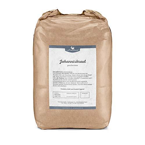 Krauterie Johanniskraut in sehr hochwertiger Qualität, frei von jeglichen Zusätzen, als Tee (Hypericum perforatum) – 2000 g