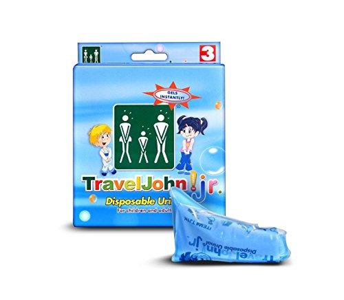 traveljohn junior disposable urinal bag