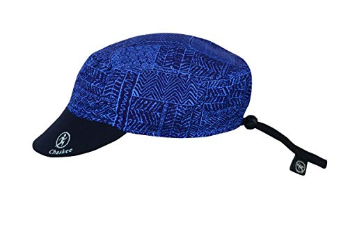 Chaskee Reversible Cap Tribal Print, One Size, Marine