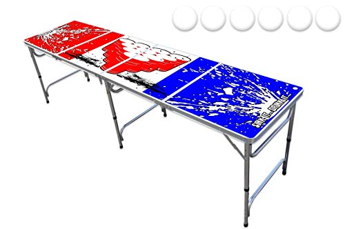 PartyPongTables.com 8-Foot Party Pong Table - Sink It.Drink It Edition