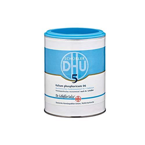 DHU Schüßler-Salz Nr. 5 Kalium phosphoricum D6 Tabletten, 1000 St. Tabletten