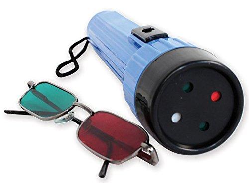 Gima - Prueba Worth de 4 luces con gafas de color rojo y verde (31289)