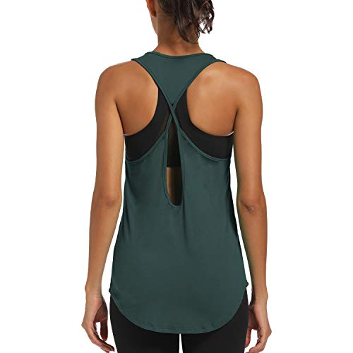 CNJUYEE Yoga Tops for Women Acti...