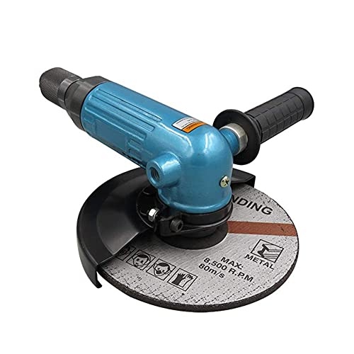 Herramientas neumáticas Amoladora Angular neumática de 7 Pulgadas, Máquina cortadora de Grado Industrial, Amoladora neumática de 180 mm Herramienta de Pulido y Pulido para la renovación del hogar, F