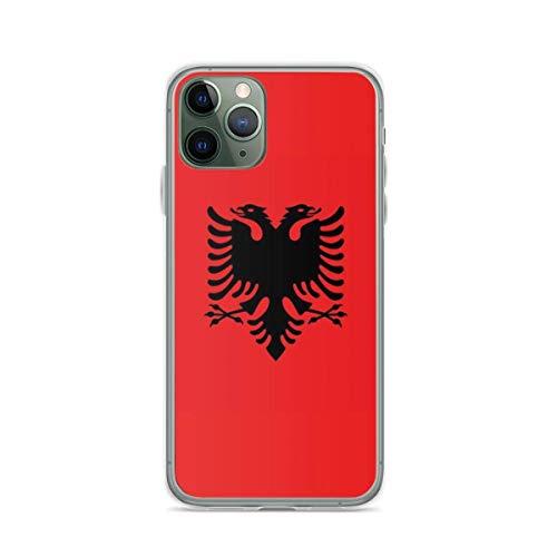 Albania Pure Clear Custodie per Telefoni iPhone 12/11 Pro Max 12 mini SE X/XS Max XR 8 7 6 6s Plus Custodie