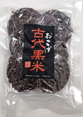 山香煎餅本舗 古代黒米おこげ 80g ×4袋