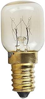 PinShang 220v E14 300 Degree High Temperature Resistant Microwave Oven Bulbs Cooker Lamp Salt Light Bulb Brass lamp holder...