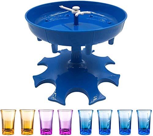 Shot Glass Dispenser - Dispenser For Filling Liquids, Shots Dispenser, Liquid Dispenser, Party Drinking Games (Acrylic Shot Glasses Included)