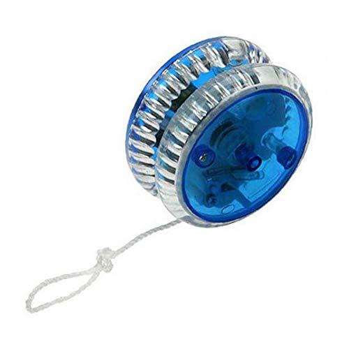 Yoyo Magia Professionale Led Del Yo-yo Di Plastica Del Giocattolo Yo Yo Sfera Di Misura Per Bambini Adulti Blu Conveniente Alimentazione