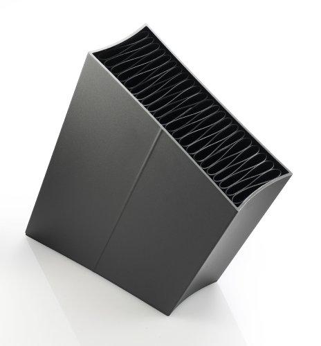 Eva Solo 515290 messenblok met inzetstuk, schuin, hoogte: ca. 27 cm, zwart.