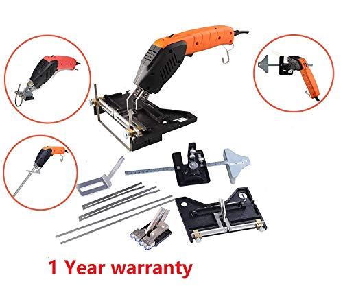 JIADING Pro Electric Hot Knife Foam Cutter Styrofoam Cutting Tool Kit Air Cooled Electric Hot Knife Continuous Use(Electric Hot Knife)