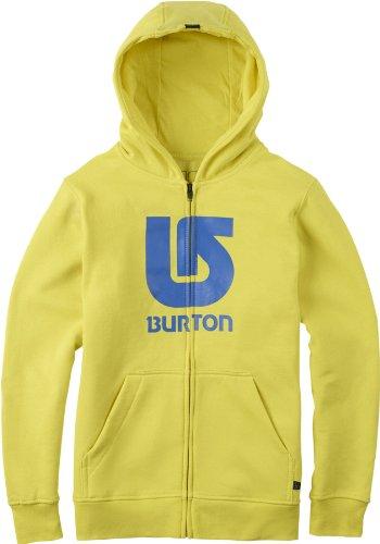 Burton Jungen Sweatjacke Boys Logo Vertical Fullzip, Green Sheen, M, 13784100303