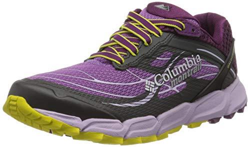 Columbia Caldorado III, Zapatillas de Running para Asfalto Mujer, Morado (Crown Jewel, Gi 523), 36.5 EU