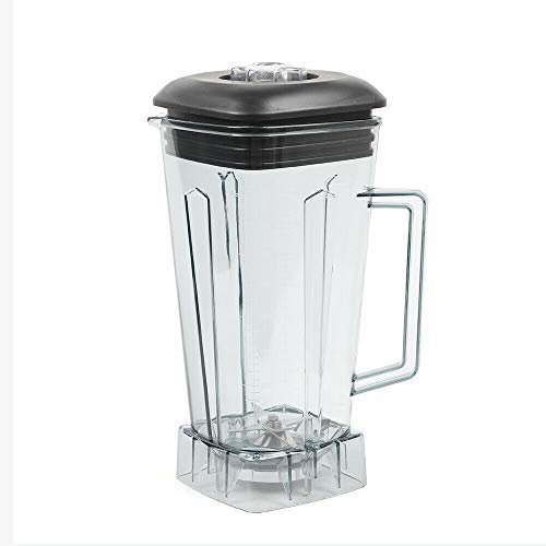 Juicer Cup,2l Commercial Square Container Jar Jug Pitcher Cup Spare Parts Kit Bottom for Home Using Blender 60OZ Best