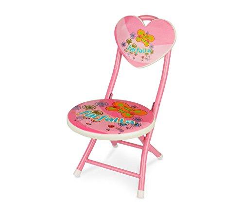 211649 Chaise pour enfants Couleurs et fantaisies - Rose