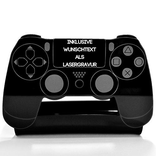 PS4 / Pro / Game Rack5 inkl.Wunsch- Lasergravur Spieleregal Gameregal Playstation