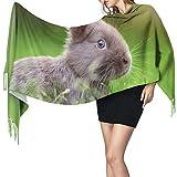 Bufanda de mantón Mujer Chales para, Nature 's Own Pets' Moda para mujer Mantón largo Invierno Cálido Bufanda grande Bufanda de cachemira