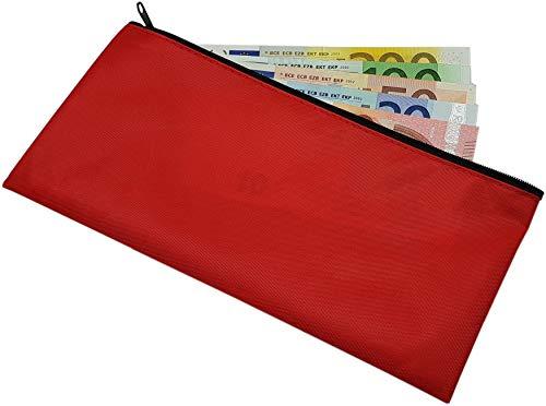 Portafoglio per banca in 3 diversi colori (Rosso)
