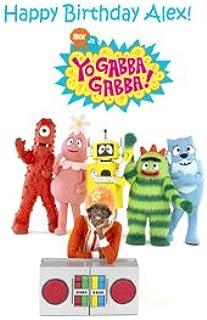 Yo Gabba Gabba Edible Personalized Cake Image Dancey Dance Birthday Party