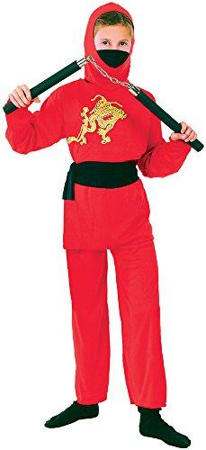 Bristol Novelty Ninja Enfant Costume (L) Enfant Âge 7–9 Ans