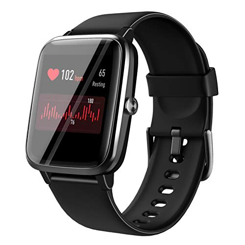 Smart Watch for Android Phones, Touchscreen Smartwatch with Heart Rate Monitor, 210mAh Smart Watches for iPhone, Samsung Galaxy Compatible