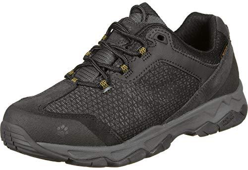 Jack Wolfskin Herren Rock Hunter Texapore Low Trekking- & Wanderhalbschuhe, Grau (Burly Yellow Xt 3802), 44 EU