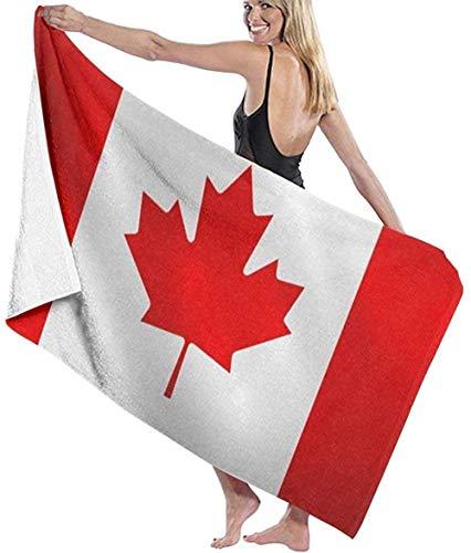 HSHY Kanada wehende Flagge Zusammenfassung Kanadischer Strandtuchstuhl Dicker weicher, schnell trocknender, saugfähiger Handtuchdeckehshy