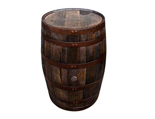 Temesso Originales schottisches Whiskyfass, Eichenfass, Holzfass, Whisky Fass, Schnapsfass - 190L (Oberfläche geölt)