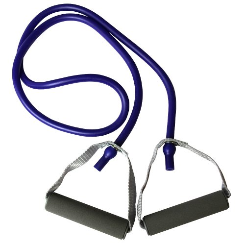 La-VIE(ラヴィ) トレーニングチューブ フィットネスチューブ ハード ハンドル付き