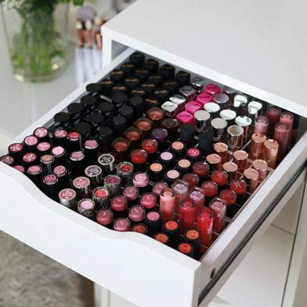 TidyUps One for Lipsticks | Makeup-Organizer passend für IKEA Alex 5 oder 9 | Für Lippenstifte & mehr