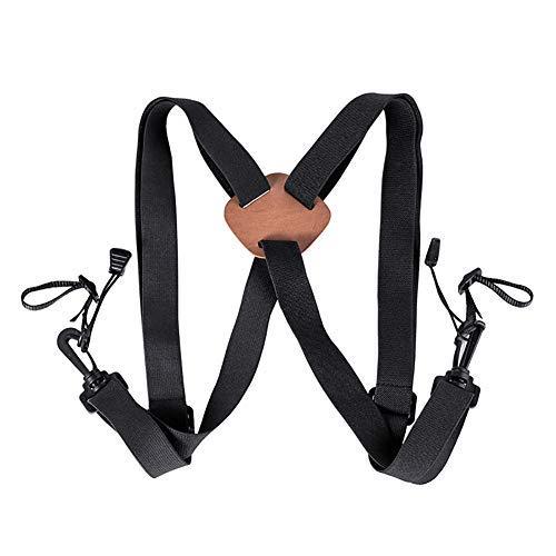 Cinghia di imbracatura per binocolo, da caccia, regolabile, con fibbie a sgancio rapido, ideale per binocoli, fotocamere e telemetri