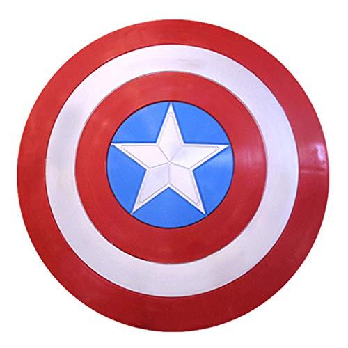 Escudo De Capitn Amrica Para Nio 22.4-Inch Captain America Shield Adults - One Size Costume Accessory A,57cm