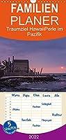 Traumziel Hawaii - Perle im Pazifik - Familienplaner hoch (Wandkalender 2022 , 21 cm x 45 cm, hoch): Eine Reise zu den Trauminseln des Pazifiks (Monatskalender, 14 Seiten )