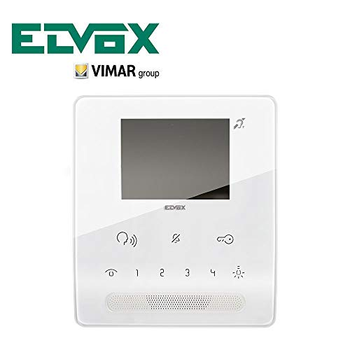 ELVOX 7539 - VIDEOCITOFONO TAB FREE VIVAVOCE BIANCO
