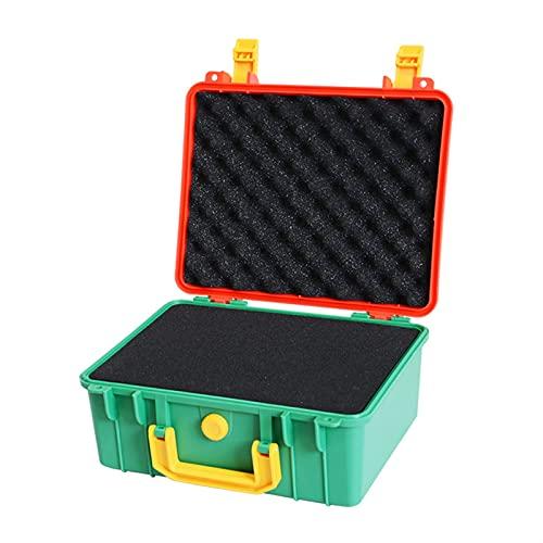Xu Yuan Jia-Shop Caja de Herramientas portátiles ABS de plástico de Almacenamiento de Herramientas de Herramientas de Caja de Herramientas Maleta Exterior con Espuma en el Interior