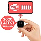 GHOST Mini <span class='highlight'>Spy</span> Camera - Wireless WiFi Cam With Night Vision And Ultra Mini Body - Hidden 1080p <span class='highlight'>Spy</span> Cam- Cctv Home Security Surveillance With Audio And Motion Detection - Incredibly Powerful Nanny Cam