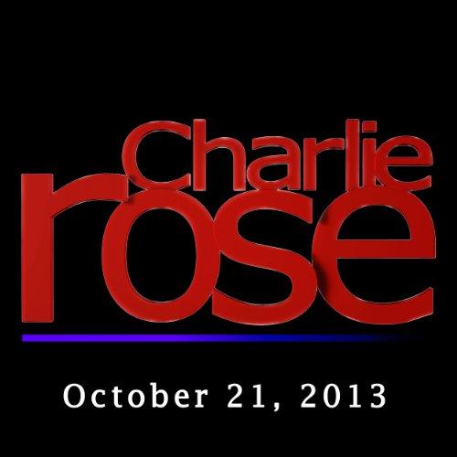 Charlie Rose: John Dickerson and Craig Venter, October 21, 2013 audiobook cover art