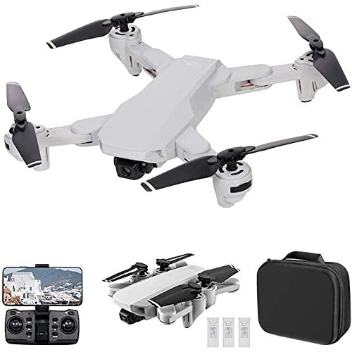 DCLINA Drone GPS con Fotocamera 4K 5G WiFi FPV Pieghevole Posizionamento del Flusso Ottico del Drone con modalità Senza Testa Waypoint Flight Follow Me