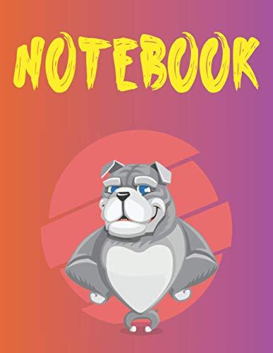 NOTEBOOK: Quaderno a righe bianco per bambini | 100 pagine | 8,5 x 11 pollici | Notebook per scrivere e prendere appunti | Journal | Scuola | Ideale come regalo