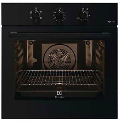 Forno Elettrico Ventilato Multifunzione con Grill 53 Litri Classe A Larghezza 60 cm Nero RZB 2100 AAK