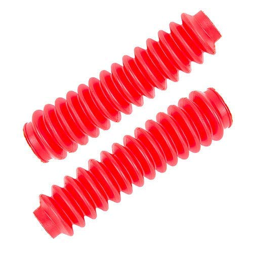 Rough Country 87165 Red Boots w//Clamps for Any Standard Shock 4