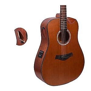 Kadence Slowhand Series Premium Demi Cut Semi Acoustic Guitar 5