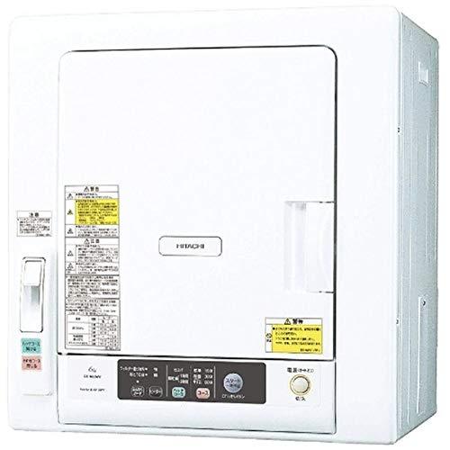 日立(HITACHI) 日立 5.0kg 衣類乾燥機HITACHI これっきりボタン DE-N50WV-W