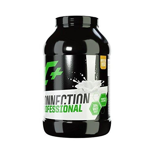 ZEC+ Whey Connection Professional – 1000 g, Proteinpulver aus Whey Konzentrat & Whey Protein, Protein Shake mit Eiweißpulver & Aminosäuren (BCAAs), Geschmack Cappucino