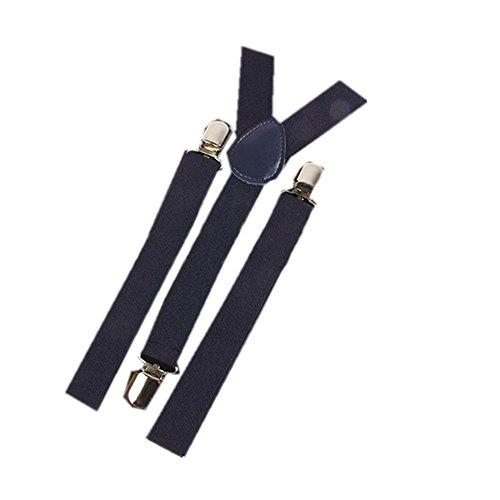 UMEE Tirantes Pantalones Elásticos Color Puro Traje De Escena Ropa Para Hombre Mujer Unisex Longitud Ajustable Caballero Ceremonia De La Boda