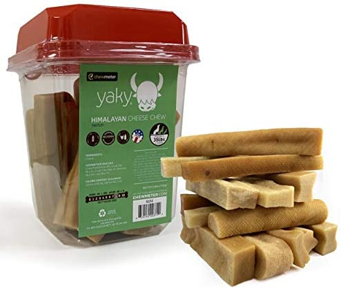 Chewmeter Yaky Himalayan Cheese Chews Natural Yak Cheese Dog Chews Long Lasting Stain Free Protein product image