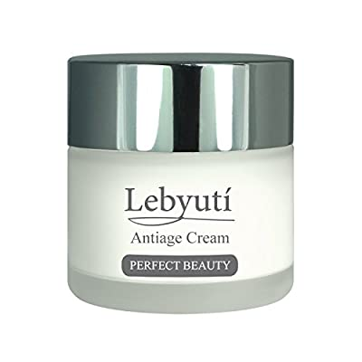 Face Cream, Facial Moisturisers for men and women day and night. Anti Ageing skincare. Anti Wrinkle cream with Vitamin C, Plant Stem Cells, Hyaluronic Acid, Aloe Vera and Collagen. Lebyutí 50ml